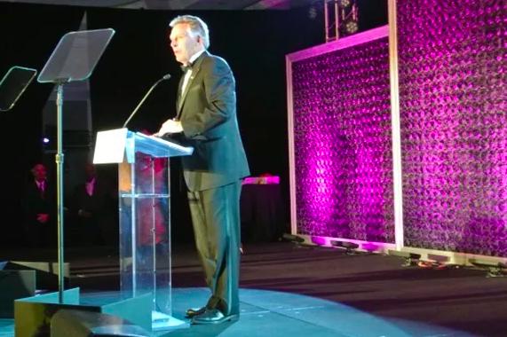 Governor Terry McAuliffe Speaking